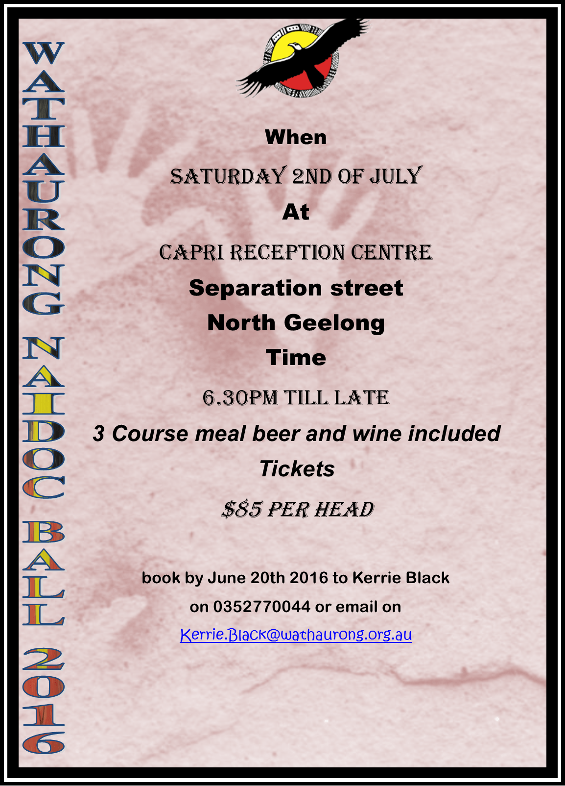 NAIDOC Ball @ Capri Reception Centre | North Geelong | Victoria | Australia