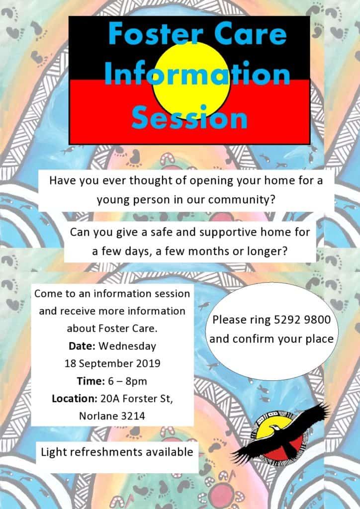 Foster Care Info Session @ Community Hub, 20A Forster St