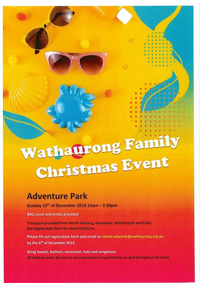 Wathaurong Family Christmas Event @ Adventure Park