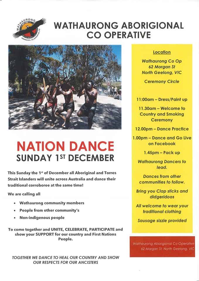Nation Dance @ Wathaurong Aboriginal Co-operative