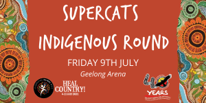 Supercats Indigenous Round HEADER TILE